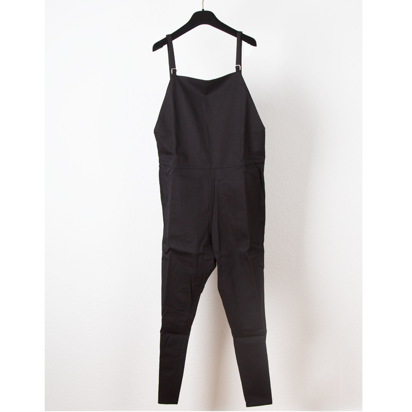 Long Strap Overall - Canvas-0