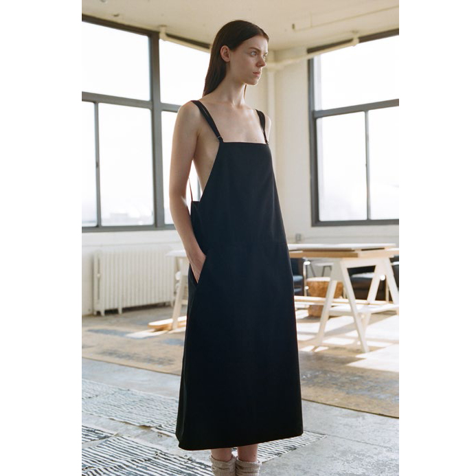 Overall Dress - Canvas-4178